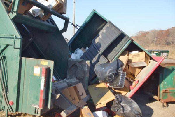 waste truck failure